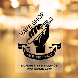 Vapeshop - Vape Hand Design