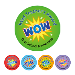 Head Teacher Wow Stickers - Value Packs