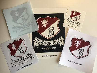 Want stickers for your club or association?