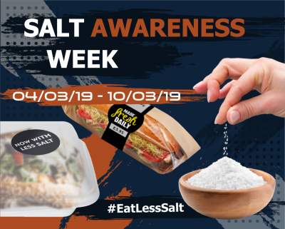 Salt Awareness Week - 4th - 10th March
