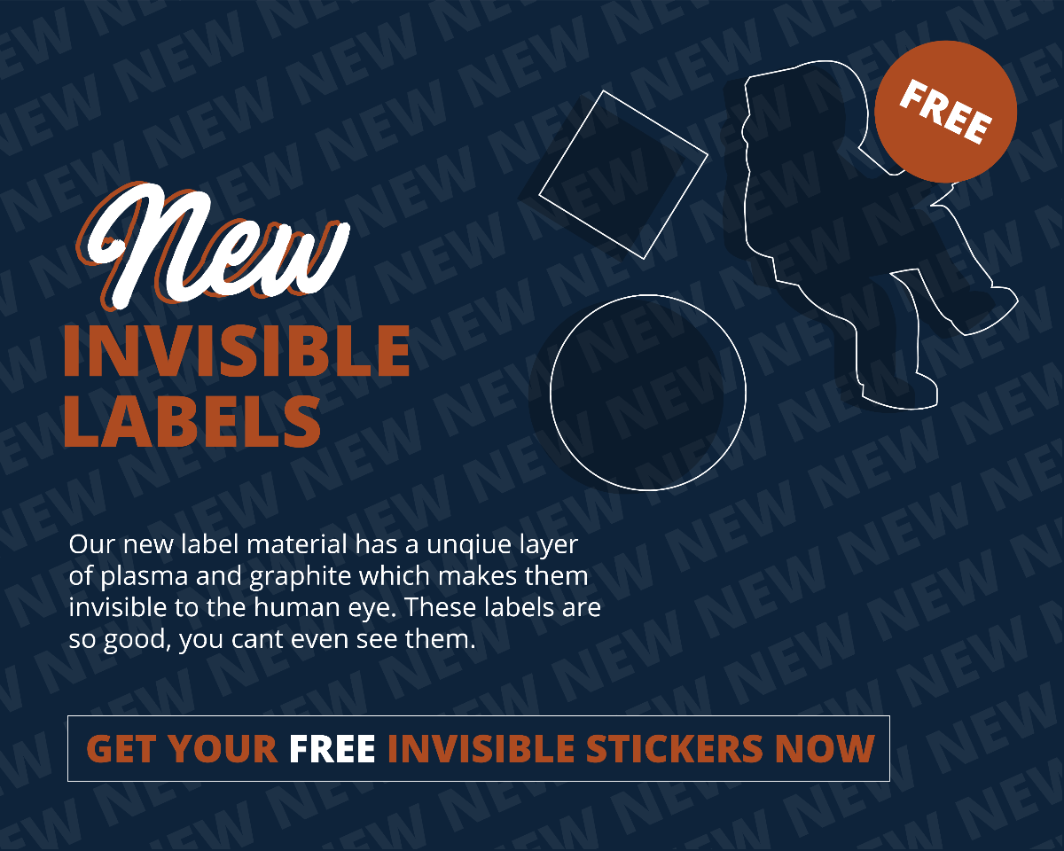Invisible labels